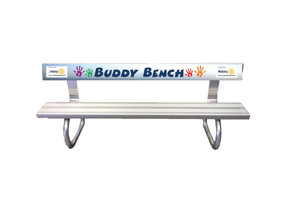 buddy bench rotary