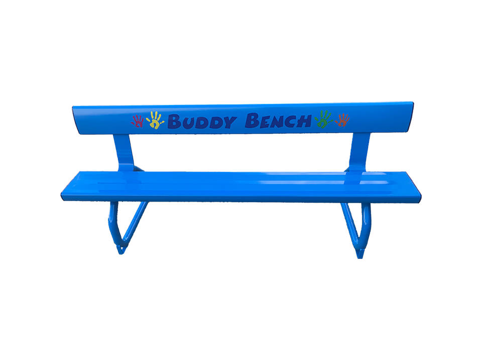 buddy bench blaze blue